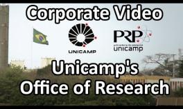 Corporate Video (English version) - Office of Research - Unicamp